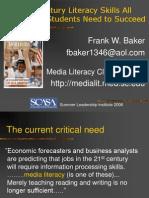 Baker - Media Literacy in the 21st Century