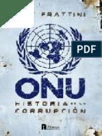 Eric Frattini - Onu, Historia de La Corrupcion