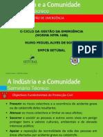 O CICLO DA GESTÃO DE EMERGÊNCIA - NFPA 1600