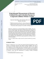 Analisis y Medida Conductividad