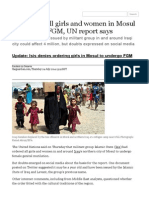 Isis orders all girls an... news | theguardian.com