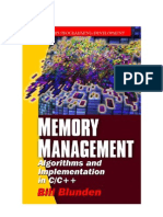 Memory Management Algorithms and Implementation in C, C++.