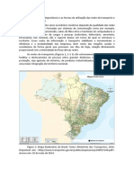 Redes de Transporte e Informacionais No Brasil