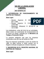 Leg. Laboral Resumen