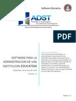 Software Educativo Administrativo
