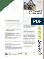 Supplement Vitamin E