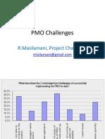 PMO Challenges Presentation1