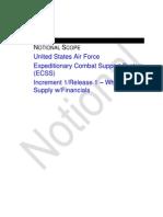 USAF SM010 Notional Scope
