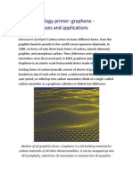 Nanotechnology Graphene - Properties, Uses and Applications