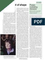 Protein-misfolding Diseases - 2002