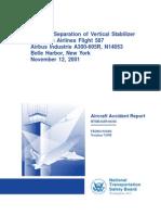 In-Flight Separation of Vertical Stabilizer