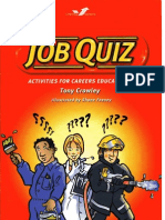 Job Quiz. Quzzes for Careers Education