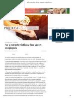As 5 Características Dos Votos Conjugais – Revista Preciosa