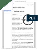 Tipos de Direccion - Sistema de Direccion