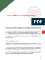 Como Establecer Una Empresa en El Peru