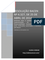 Resoluc3a7c3a3o n c2ba 4 327 de 25 de Abril de 2014