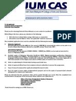 Pgraduate App Form