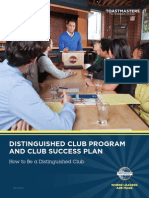 DCP and The Club Success Plan
