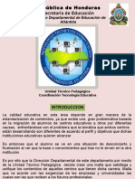 MALLA CURRICULAR  ATLANTIDA HONDURAS