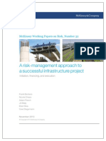 a Risk-management Approach to a Successful Infrastructure Project