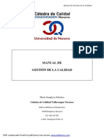 Manual de Gestion de La Calidad[1]