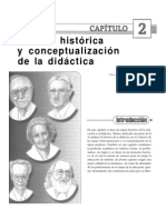 Capitulo 2 Resena Historica y Conceptualizacion de La Didactica