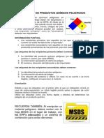 Rotulacion de Productos Quimicos