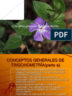 Conceptos Generales de Trigonometria