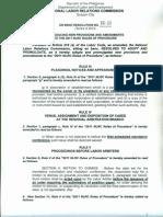 Amendment 2011 Rules