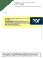 Winslow (2012) - Computational Medicine - Translating Models to Clinical Care