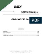 Peavey Bandit 112 Service Manual