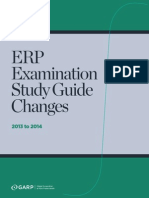 Erp Study Guide Changes 2014