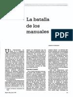 Germán Colmenares La Batalla de Los Manuales