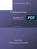 Fuel Consumption Calculation