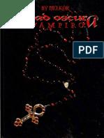 Vampiro Edad Oscura - Manual Básico
