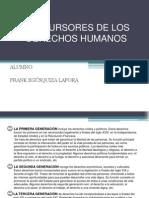Precursores de Los Derechos Humanos