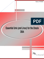03 Essential Unix (and Linux) for the Oracle DBA