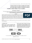 Experimental Investigation on Circular Hollow Steel