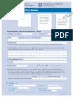 IELTS Application Form-1