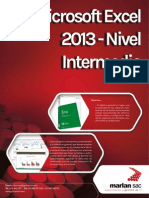 Catalogo Excel Intermedio