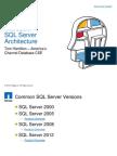 Microsoft SQL Server Architecture