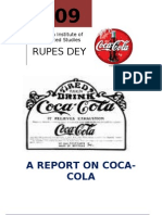 A Report on Cocacola-2009