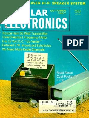 Junior Handy Little Relay 24 volt DC Strip of 4