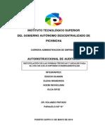 Normas Ecuatorianas de Auditoria