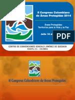 Info - II Congreso de Areas Protegidas