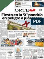 Periódico Norte edición del día 25 de julio de 2014