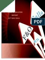 Derivative Report 25 July 2014