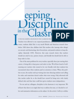 Keeping Disciple in the Classroom