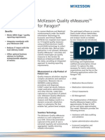 McKesson Quality EMeasures for Paragon