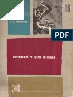A. J. Festugière, Epicuro y sus dioses